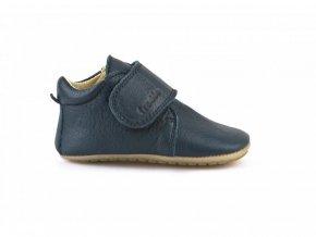 Froddo kožené capáčky Prewalkers G1130005-2 tmavě modré