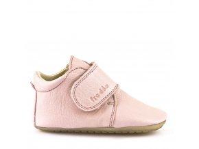 Froddo kožené capáčky/sandálky Prewalkers G1130005-1 růžové