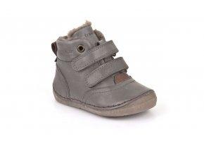 Froddo kožené zimní boty G2110069-2K - Grey