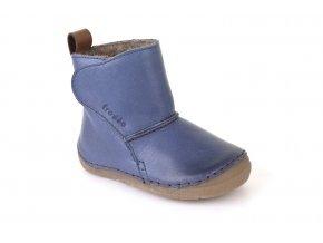 Froddo kožené zimní boty G2160040-1K Denim