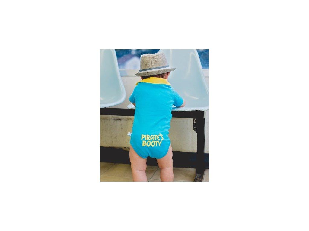 RuggedButts - Blue 'Pirate's Booty' body