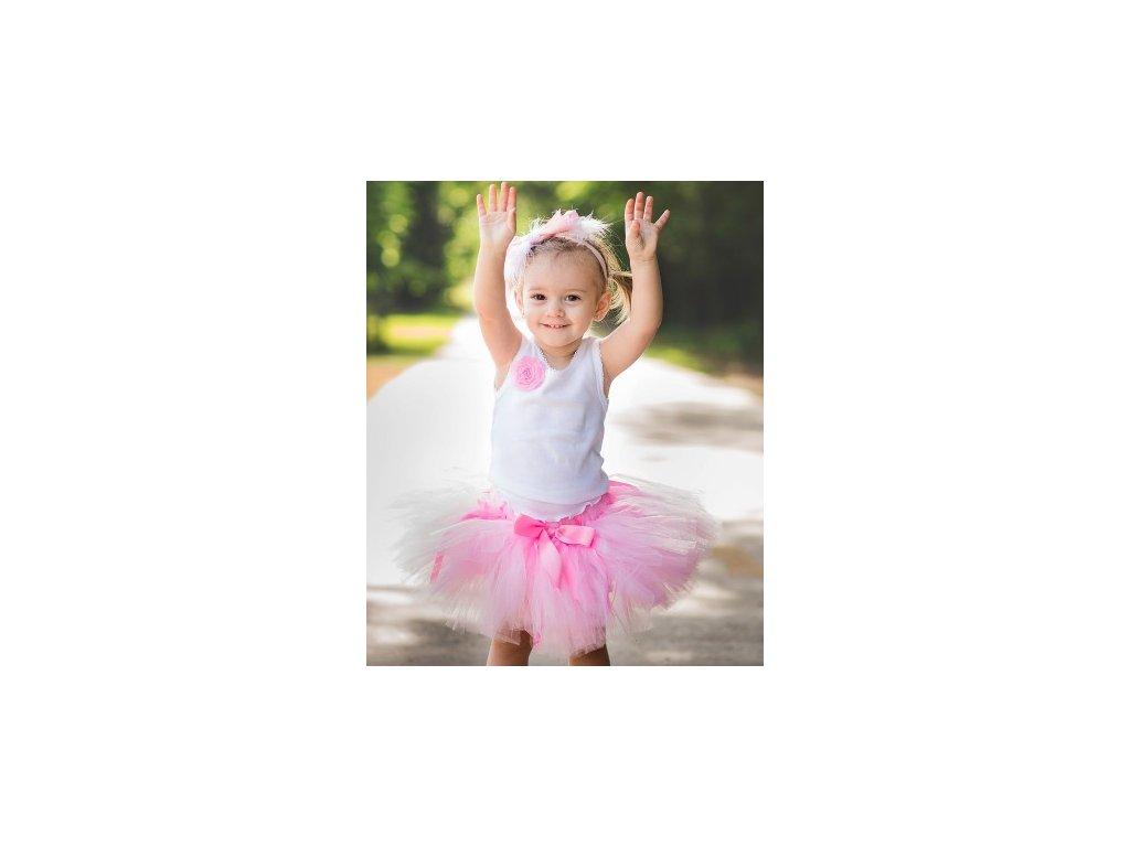 RuffleButts - Pink Tutu sukňa