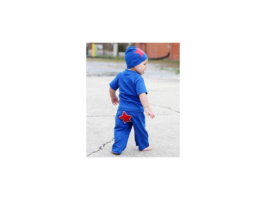RuggedButts - Blue Star Crawler tepláky
