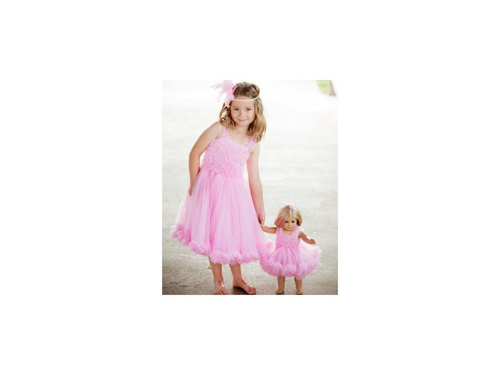 03210b99a RuffleButts - Pink Princess Petti Dress šaty - www.babola.sk