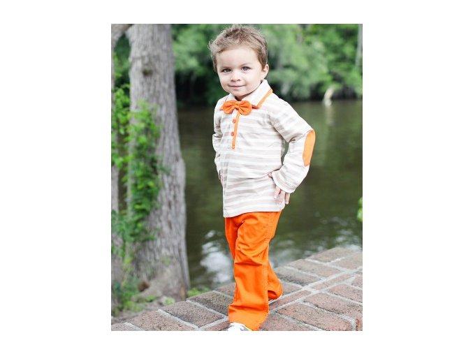 Ruggedbutts - Orange Chinos nohavice