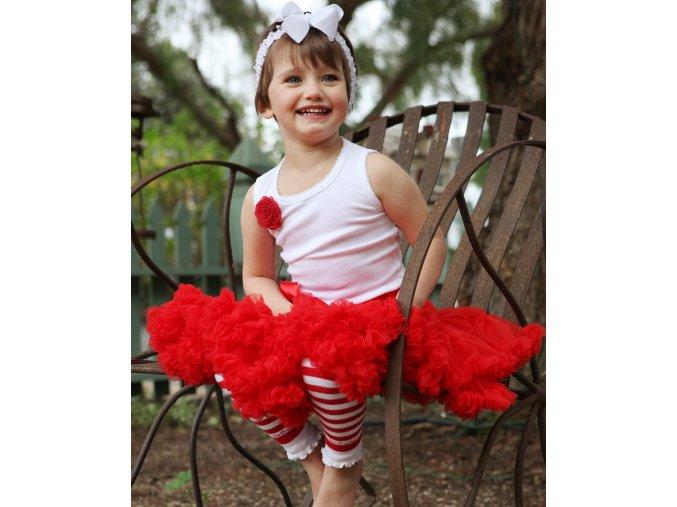 RuffleButts - Red Petti sukňa
