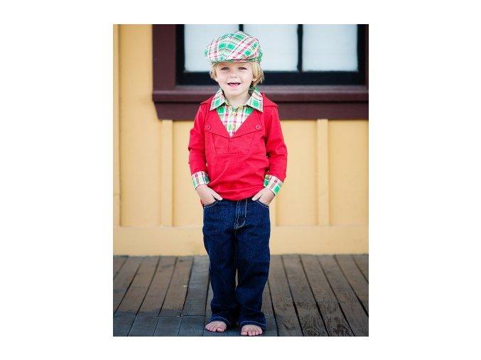 RuggedButts - Hayden Plaid Prep School Pullover