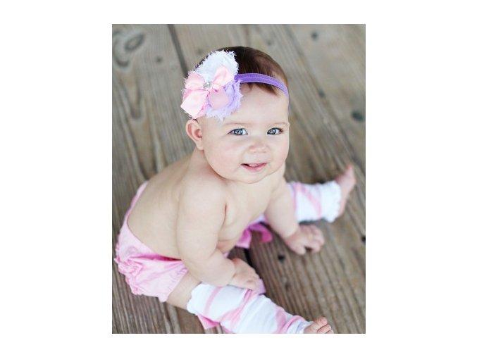 RuffleButts - Lavender Sophia čelenka