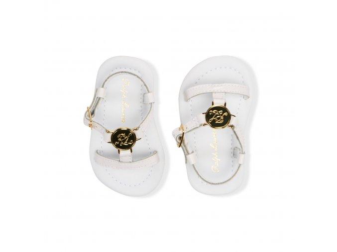 Ralph Lauren - Sueanne Leather T-Strap topánky