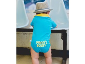 RuggedButts - Blue 'Pirate's Booty' body