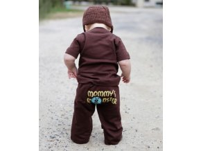 RuggedButts - Brown Mommy Monster Crawler tepláky