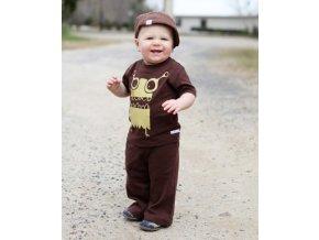 RuggedButts - Brown Mommy Monster tričko