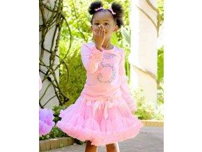 RuffleButts - Pink Petti sukňa
