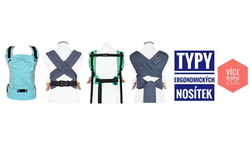 Typy ergonomických nosítek