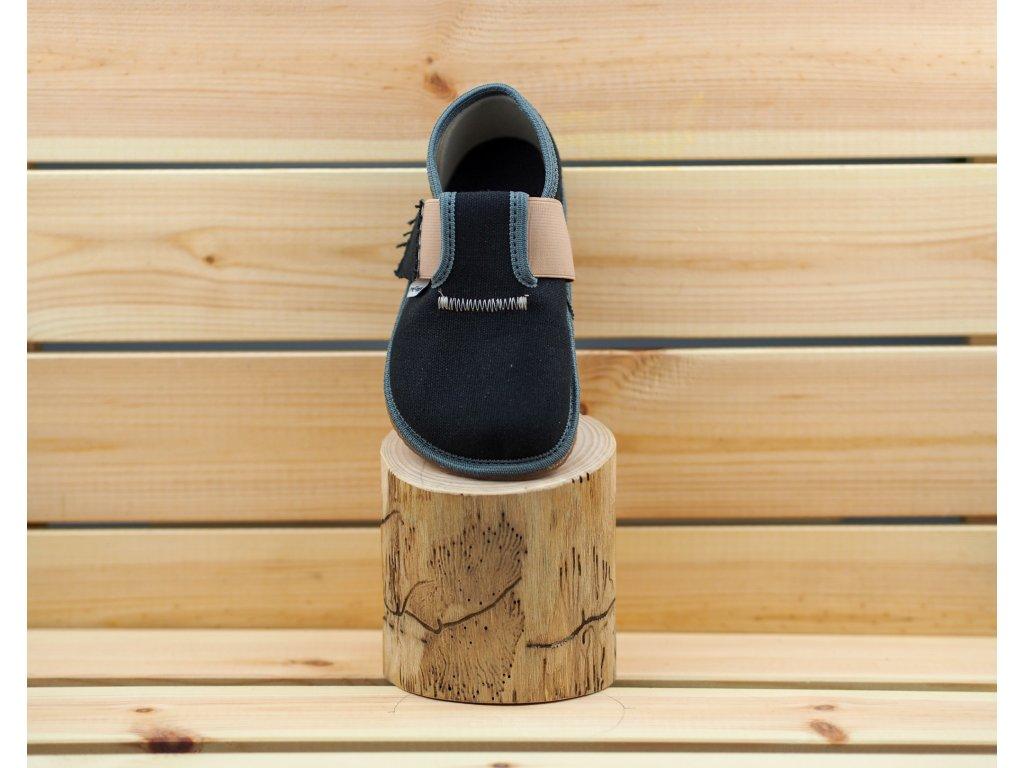 Pegres barefoot přezůvky BF01 černá 01