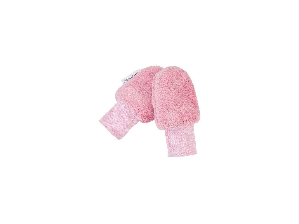 Little Angel Rukavice bez palce MAZLÍK Outlast® růžová