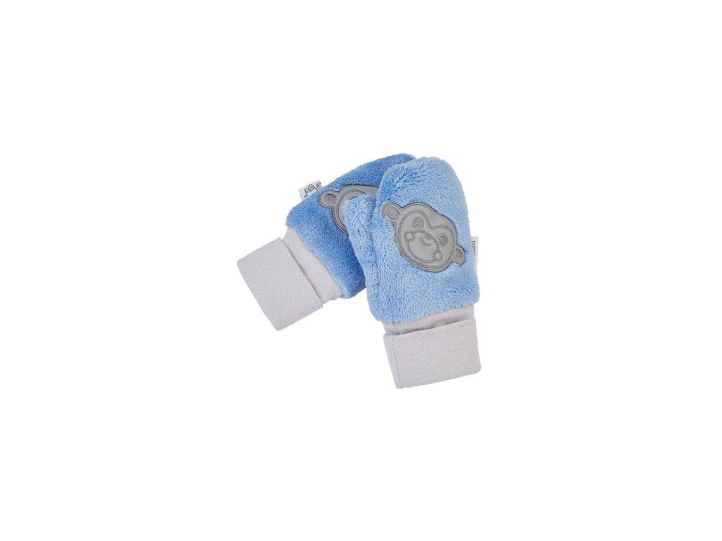 Little Angel Rukavice s palcem MAZLÍK Outlast® středně modrá