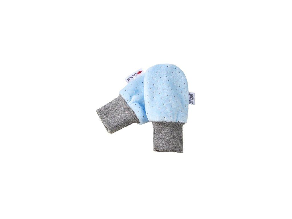 Little Angel Rukavice bez palce NICKI Outlast® světle modrá