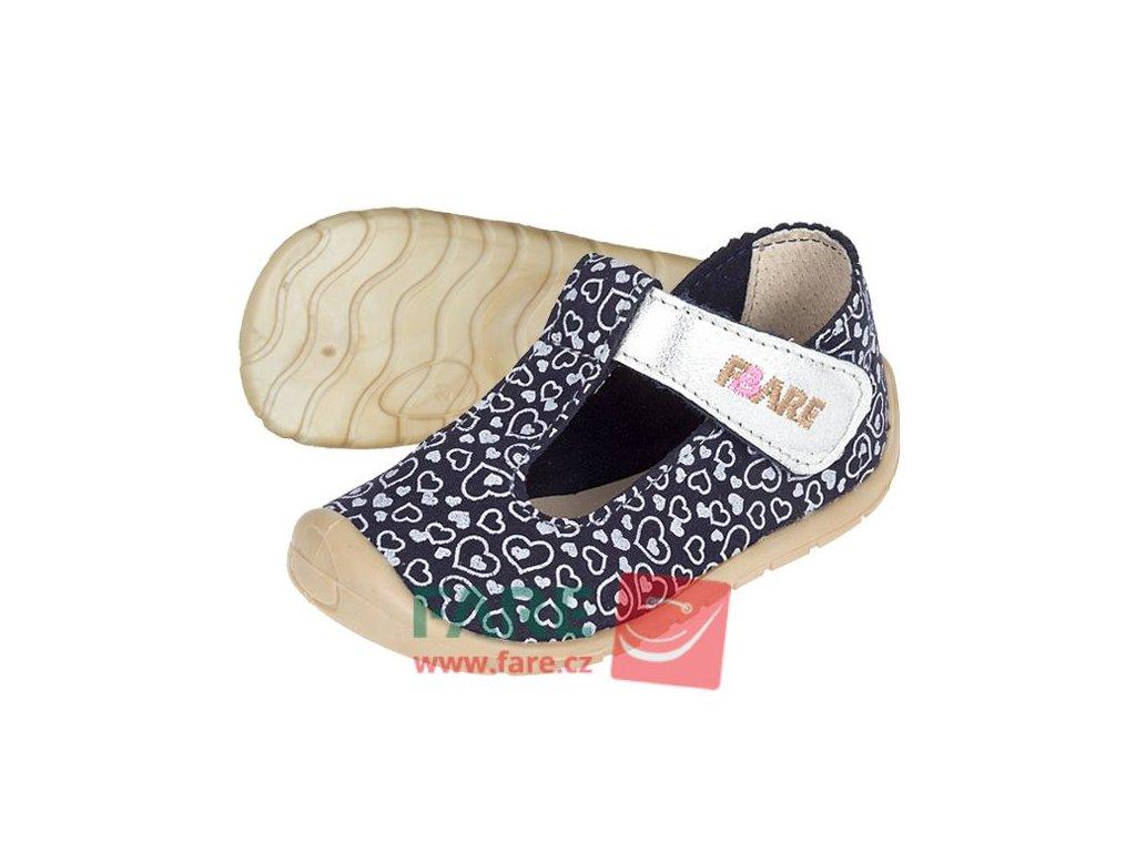 Fare Bare barefoot dětské sandály 5062202