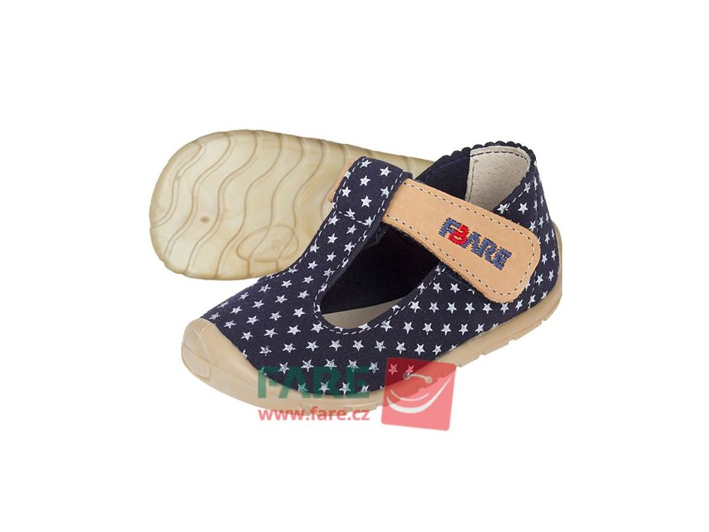 Fare Bare barefoot dětské sandály 5062203