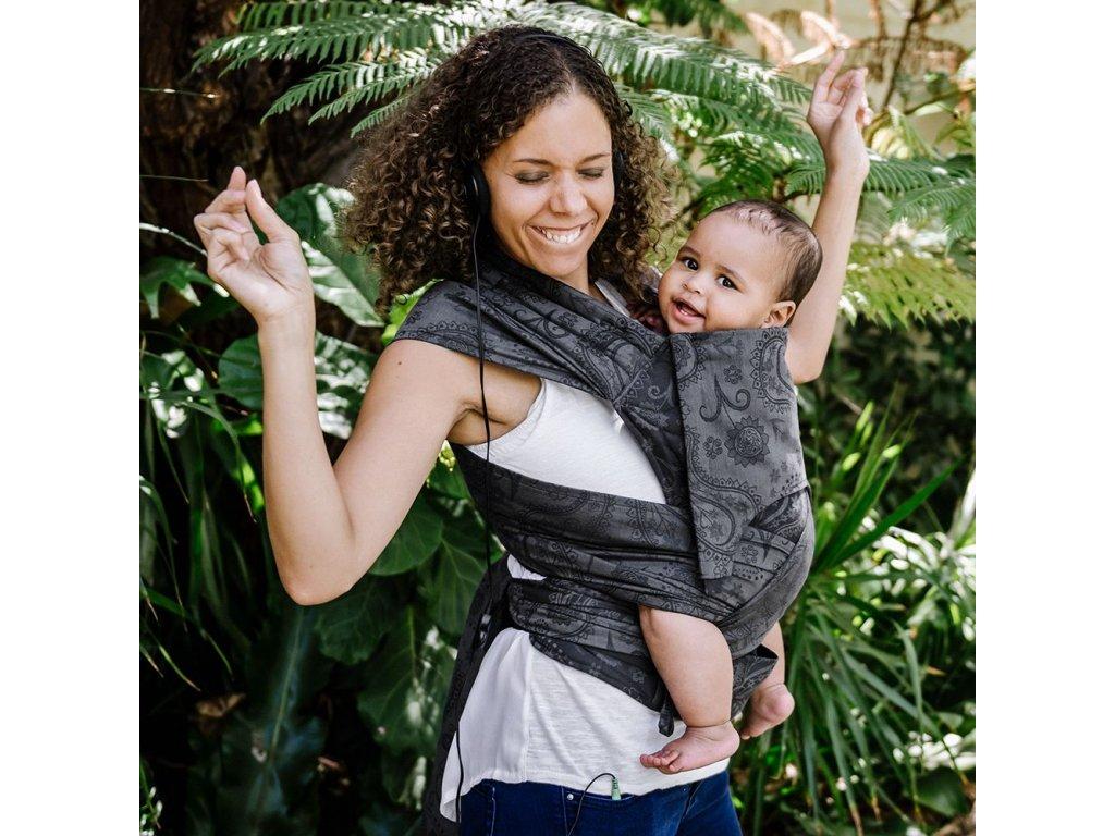 ergonomické nosítko fidella flyclick baby carrier classic persian paisley charming black