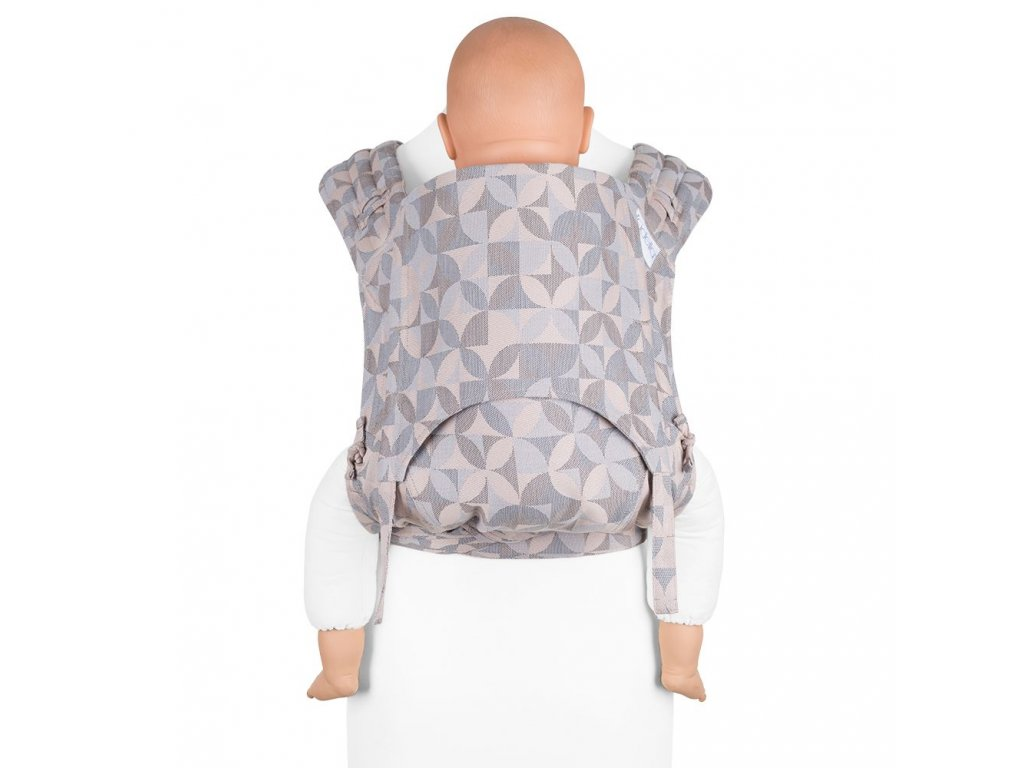 fidella flyclick plus baby carrier classic kaleidoscope sand