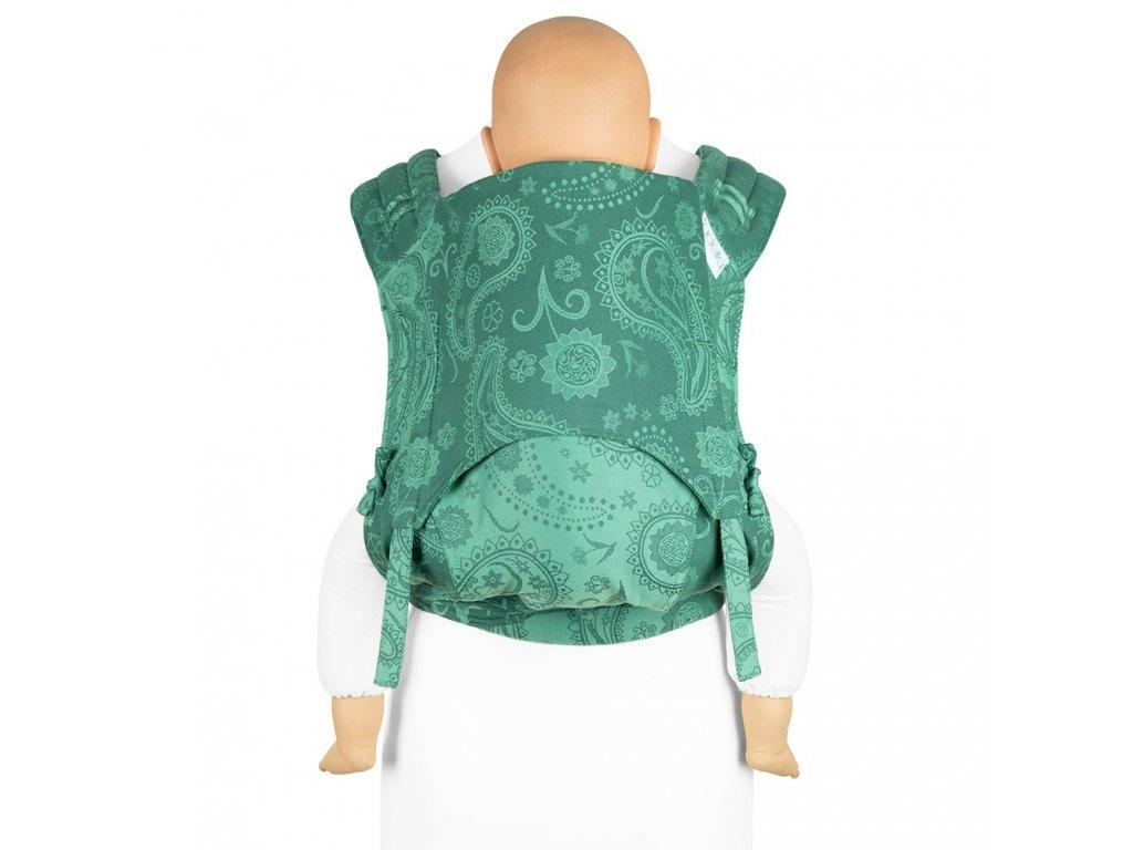 ergonomické nosítko fidella flyclick plus baby carrier classic persian paisley jungle