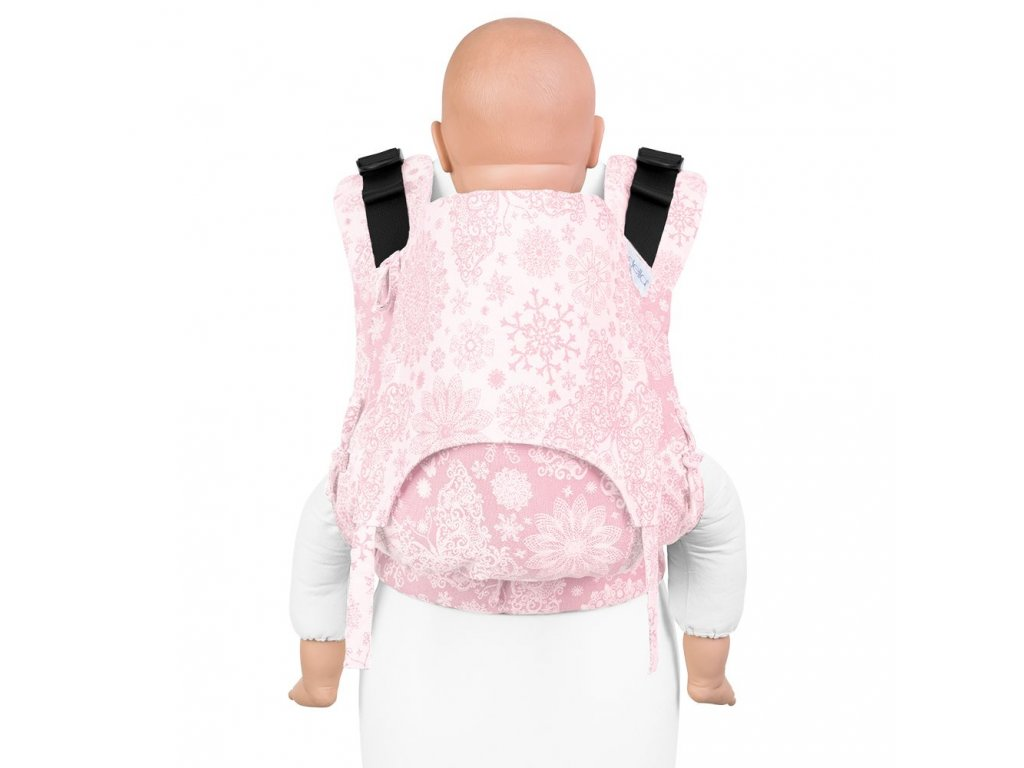 nosítko fidella fusion 2 0 baby carrier with buckles classic iced butterfly pale pink toddler
