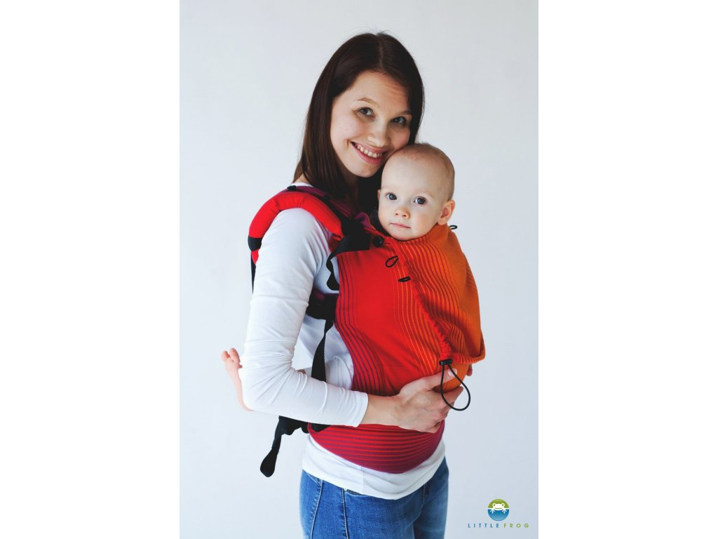 Ergonomické nosítko little Frog Ergonomic Carrier Ammolite in Love 1 6360 1