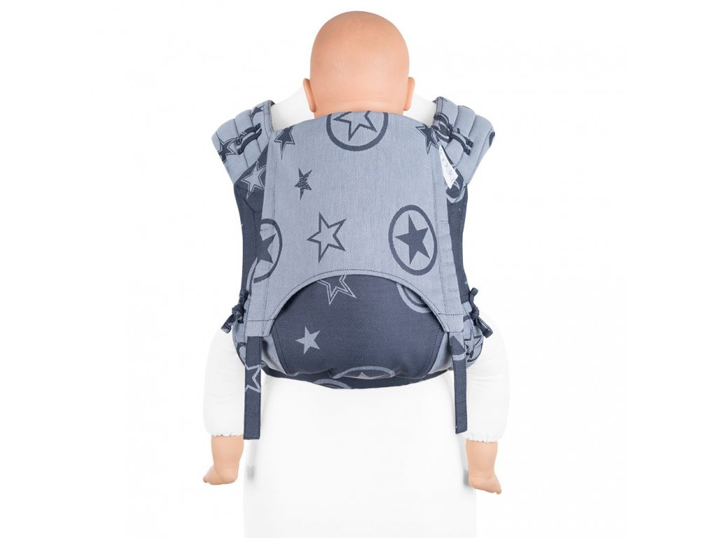 flyclick plus baby carrier classic outer space blue