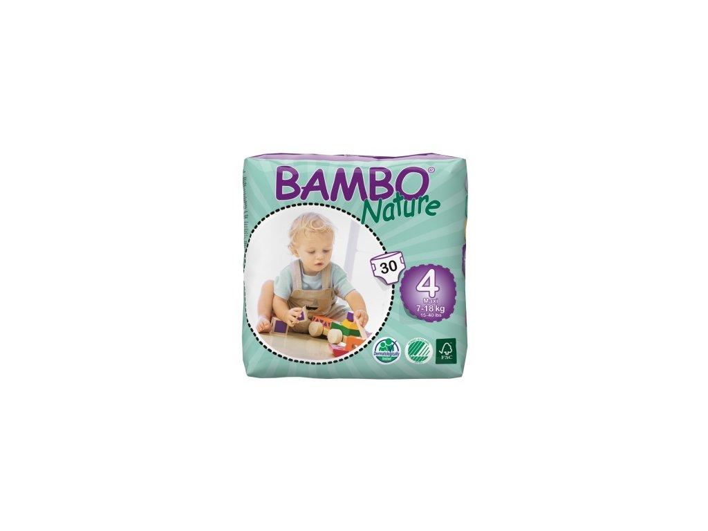 Bambo Nature 4 Maxi, 30ks, pro 7 18 kg
