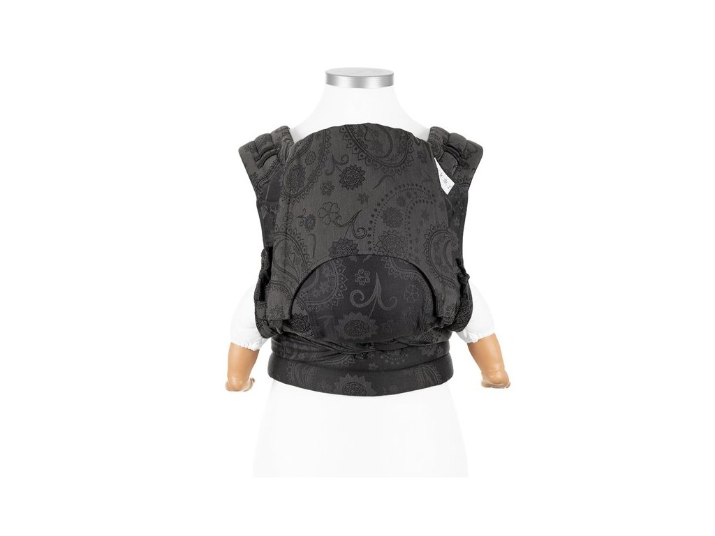 baby size fly tai mei tai baby carrier classic persian paisley charming black