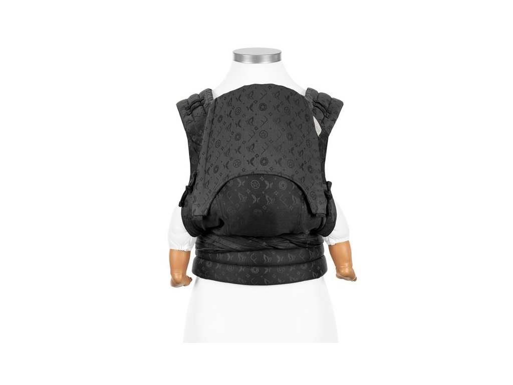 fly tai mei tai baby carrier saint tropez charming black baby