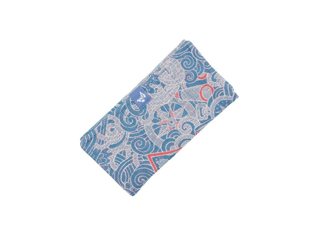 fidella suck pad for baby carriers classic sea anchor maritime blue