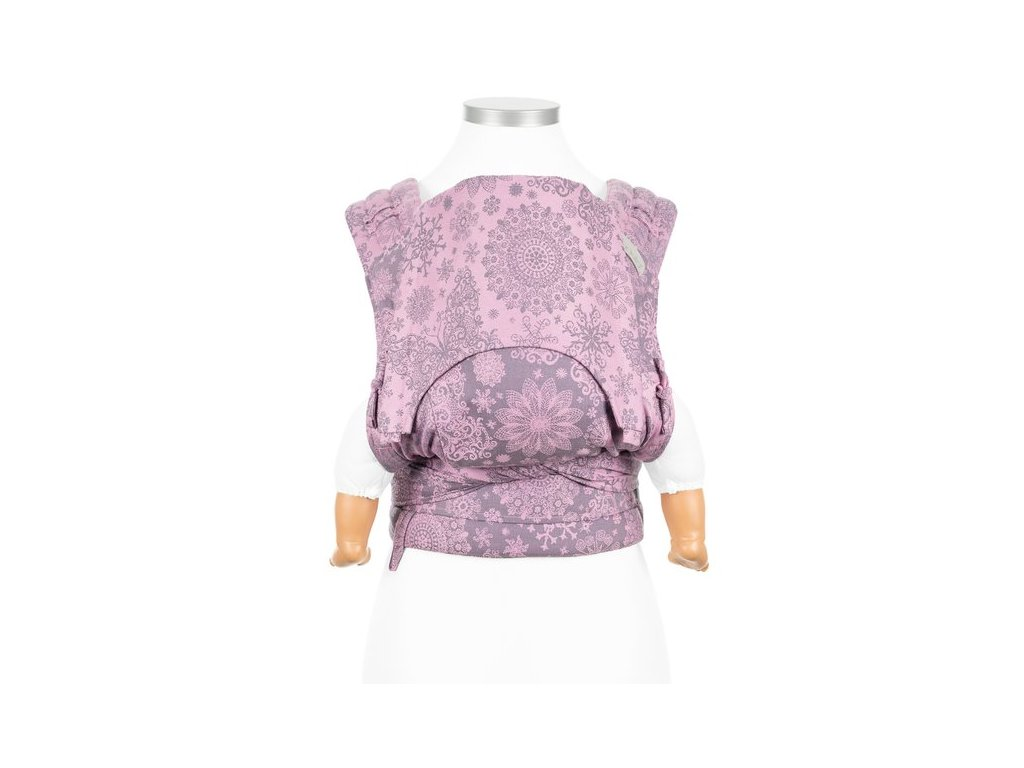 flyclick halfbuckle baby carrier iced butterfly violet baby