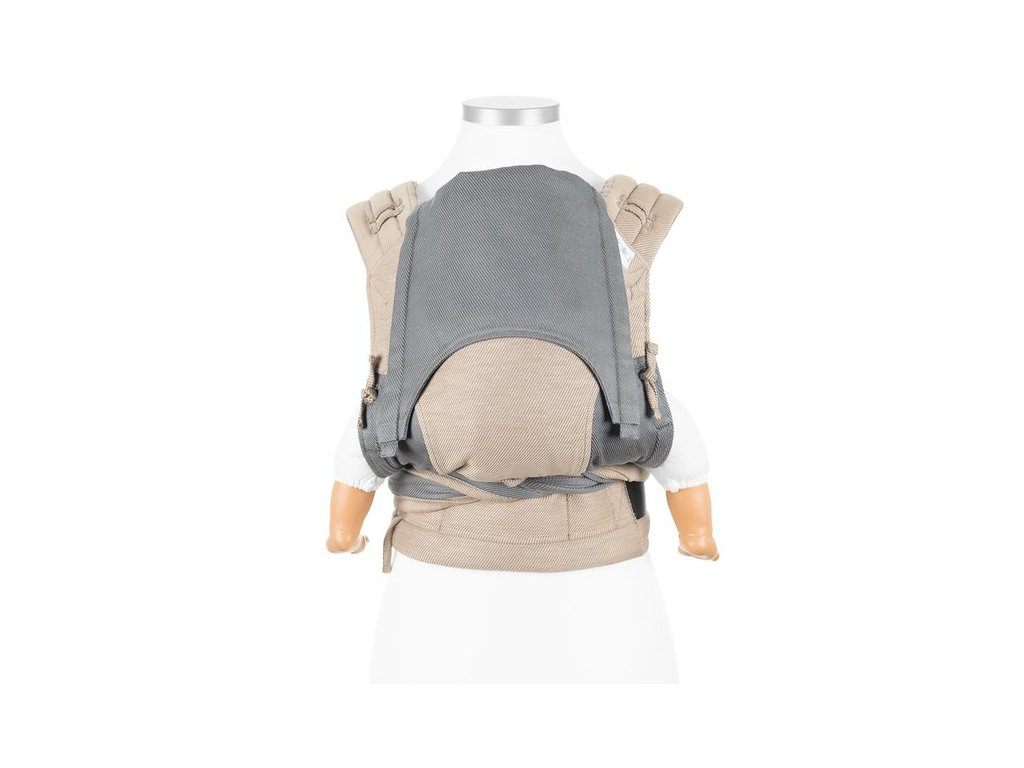 fidella flyclick baby carrier classic lines beige