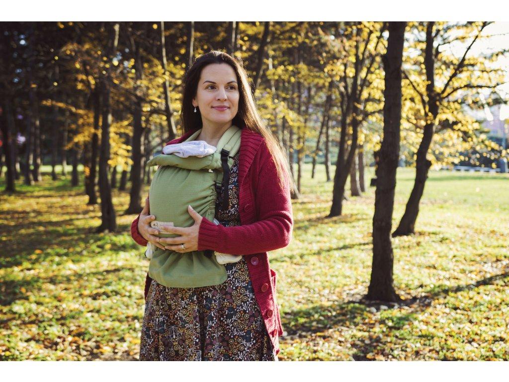 Nosítko Strochenwiege zelené 1