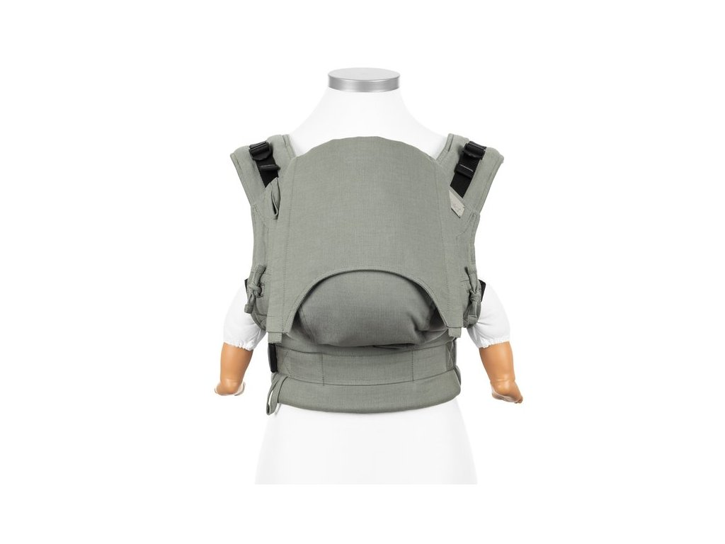 fidella fusion fullbuckle baby carrier chevron agave green baby
