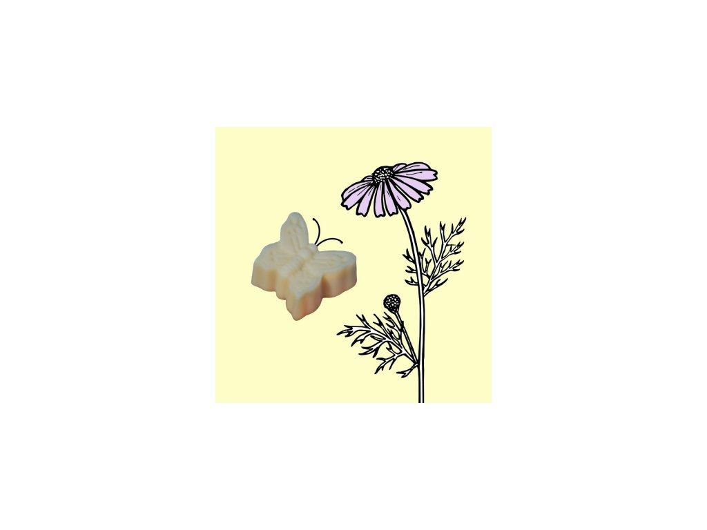 Moravité mýdlo a tuhý šampon 2v1 motýlek Venoušek