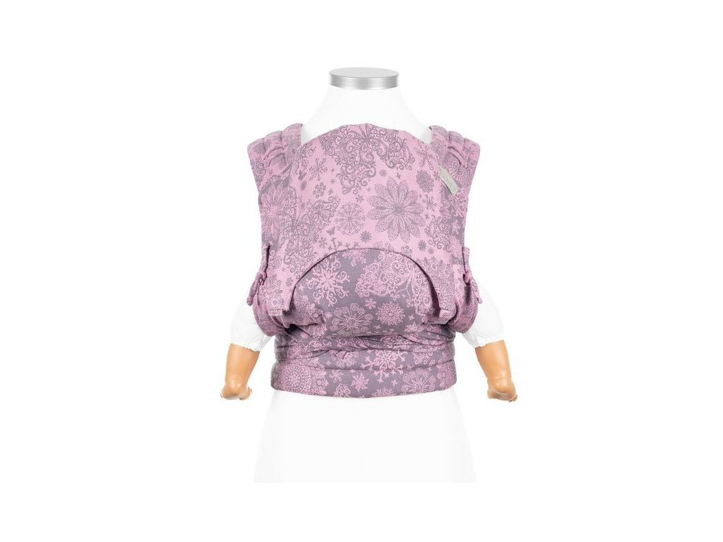fidella fly tai mei tai baby carrier iced butterfly violet baby