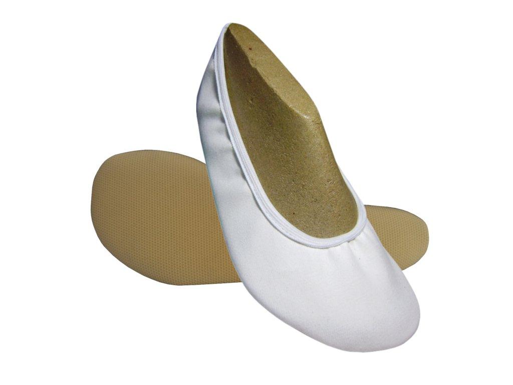 WINS Gymnastické barefoot cvičky EVELÍ TG bílá