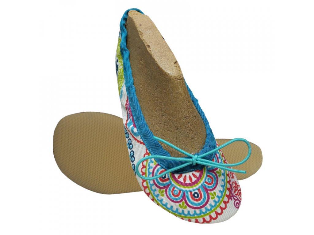 Wins barefoot cvičky na šnůrku mandala TG