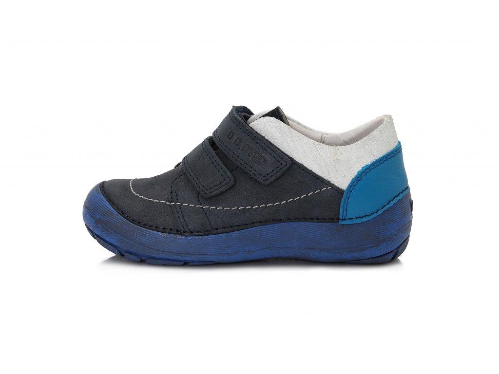 D.D.step - celoroční obuv - 023-808 modrá