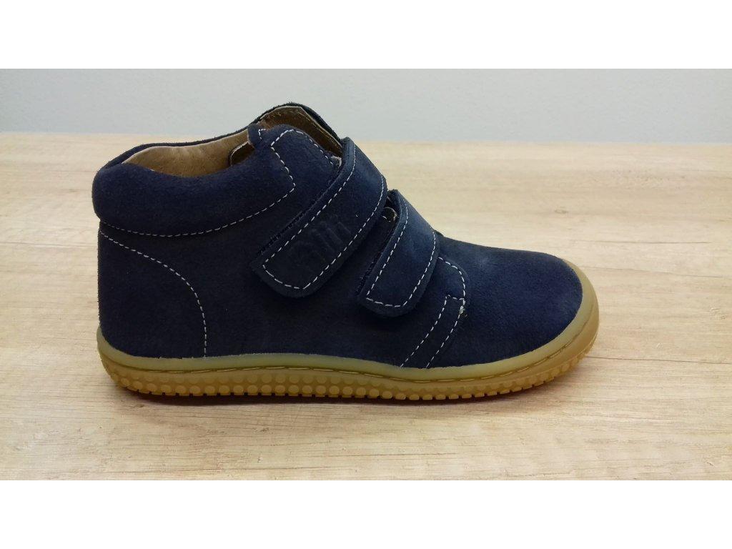 Filii CHAMELEON Velours Ocean Velcro W celoroční kotníková obuv  292012-2