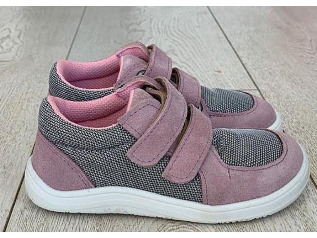 Febo sneakers pink grey