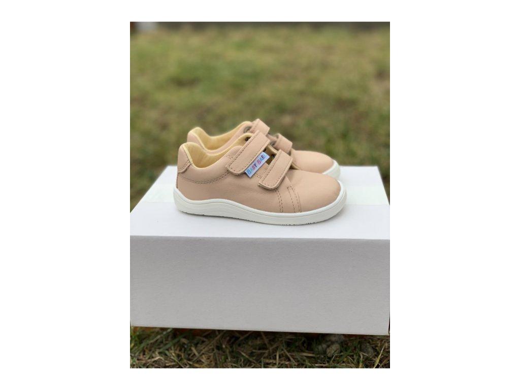 Baby Bare Shoes barefoot celoroční obuv Febo Spring Nude