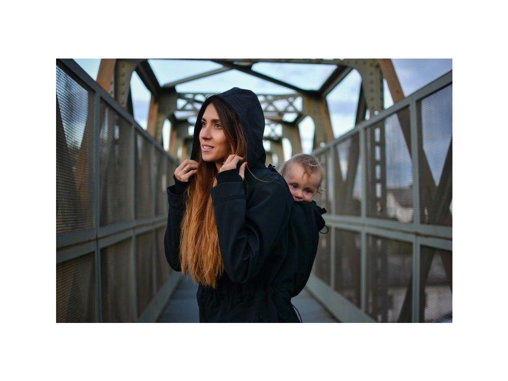 Jožánek softshellová bunda Alice 2 černá