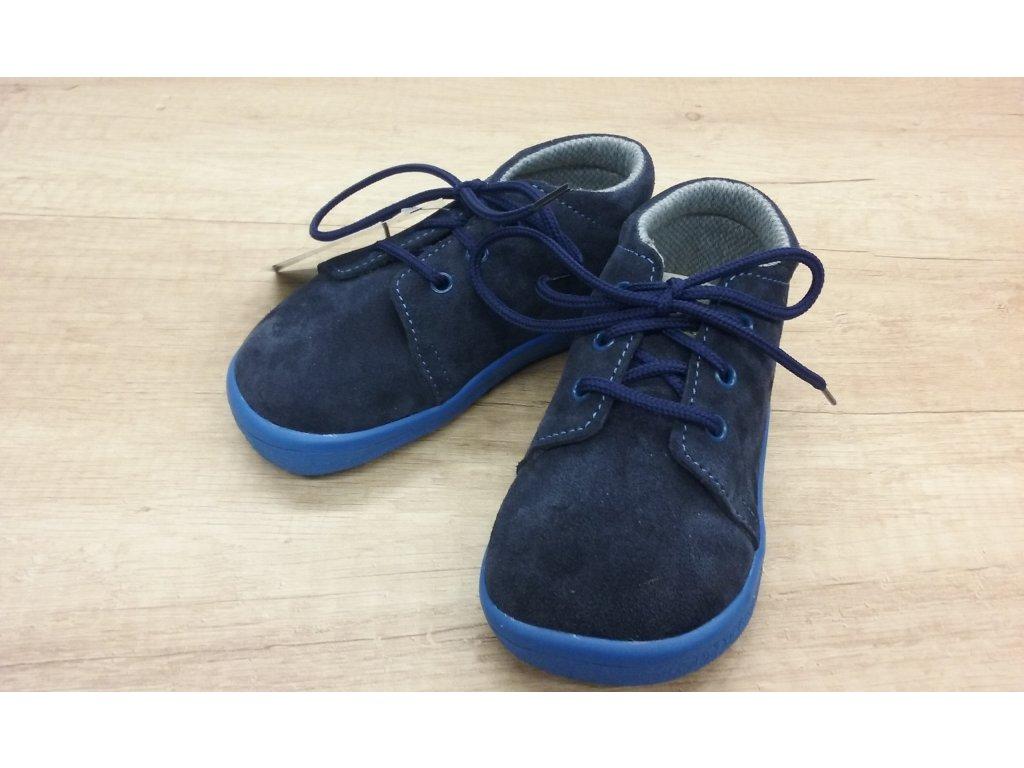 Beda celoroční barefoot obuv Daniel vyšší s membránou na šňůrky 0001/M/30002