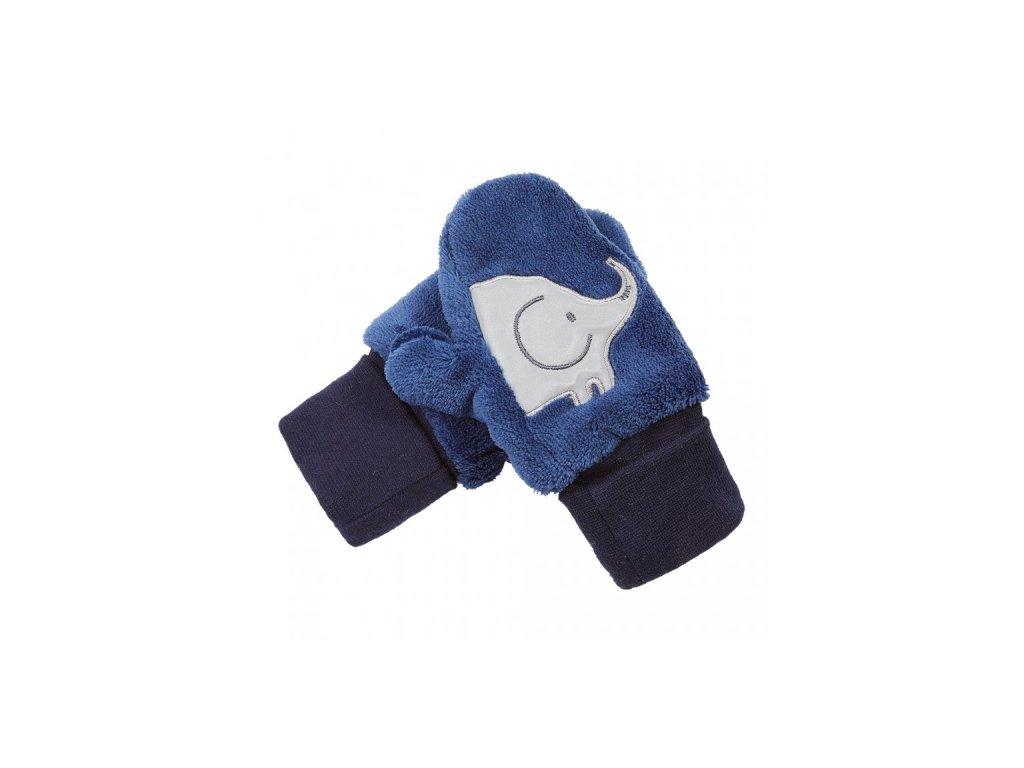 Little Angel Rukavice s palcem MAZLÍK Outlast® modrá