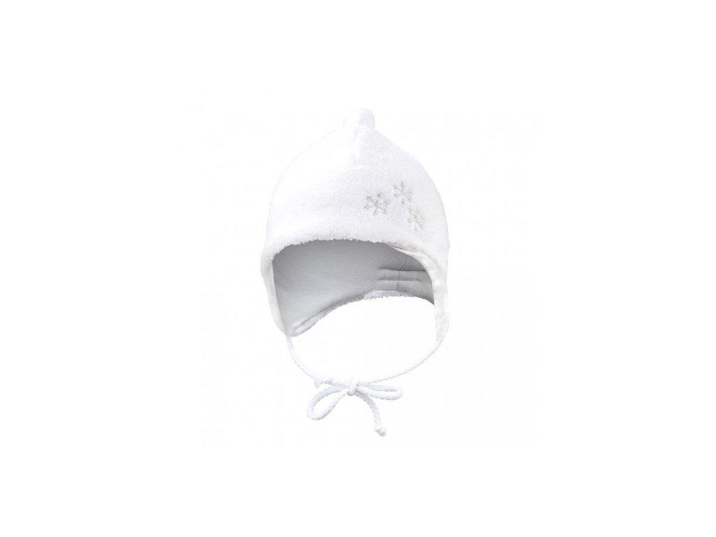 Little Angel Čepice Mazlík Outlast® bílá/světle šedá
